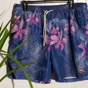 Tommy Bahama Hawaiian Swim Trunks  Size Large